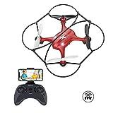 Mini Drone con Telecamera per Principianti e Bambini AT-96 RC Quadcopter FPV...