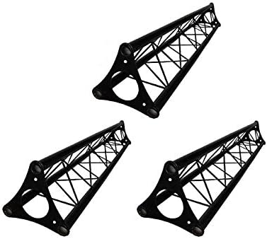 3x 5ft Lighting Triangle Bolted Truss 15 span Stand Universal DJ Metal 5 NEW product image