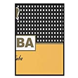 WTHKL Cohiba Habana Cuba Cigar Lienzo Pintura escandinava Arte de Pared Impresiones y Carteles para decoración de Sala de Estar-50x70 Cm sin Marco 1 Uds
