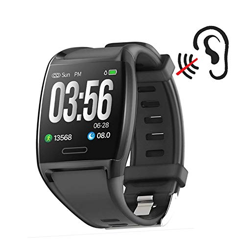 AGREAT Smart Watch Call Alarm Alert Unlimited Alarm Sets Replace Cell Phone Ringer Amplifier