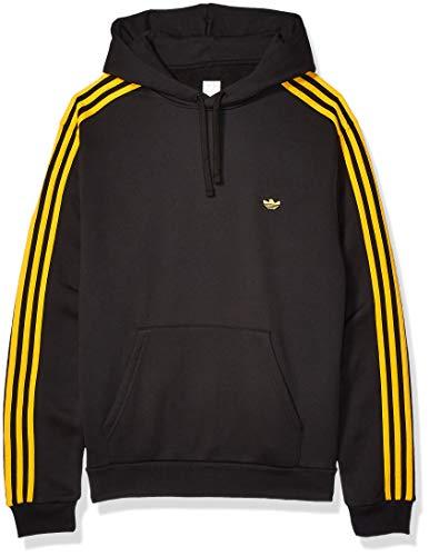 adidas Originals Herren Skate Mini Shmoo Hooded Sweatshirt, Schwarz/Aktiv Gold, X-Large