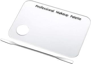 ネイルアート道具 サロン マニキュア カラーパレット メイクアップクリームファンデーションミキシングパレット 化粧品メイクアップツール ステンレス鋼板