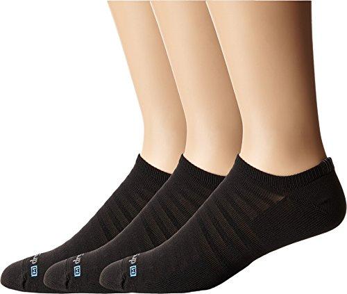 Drymax Sport Hyper Thin Running v4 No-Show 3-Pair Pack Black LG (Men's Shoe 8.5-10.5, Women's Shoe 10-12)