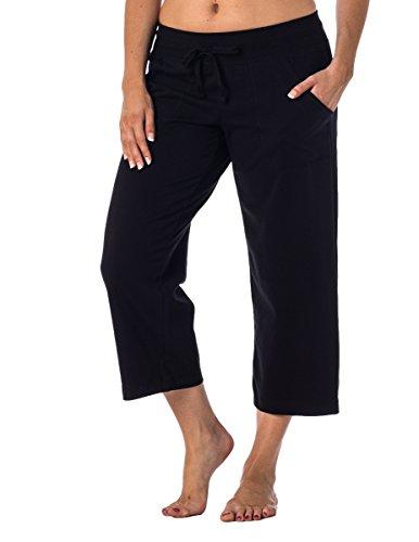 Danskin Now Women's Regular and Plus Size Capri Black M