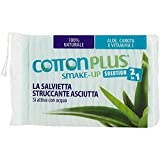 cotton plus smake-up aloe vera maxi 50 pz. | struccante naturale! salviette struccanti asciutte brevettate, senza conservanti, 100% naturali!