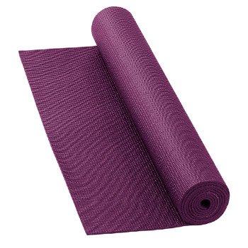 Esterilla de yoga 4 m/m (Berenjena) (Caja 12 Unidades)