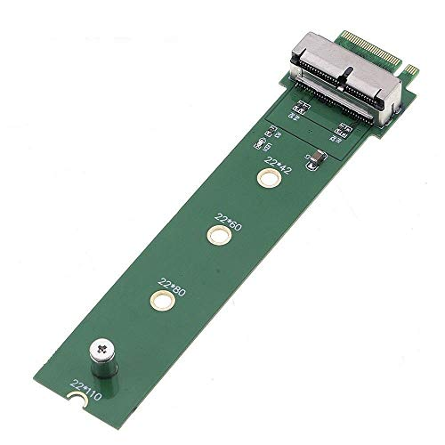 Multibao 2013/14/15 MacBook Air Pro 12+16 Pins SSD to M.2 (NGFF) PCI-e Adapter Converter