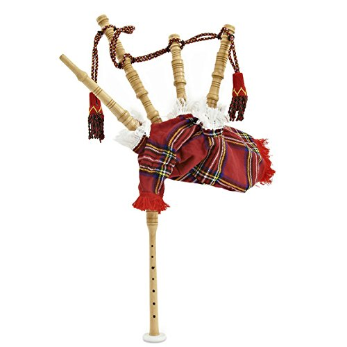 Gear4music Chanter-Dudelsack Junior Royal Stewart