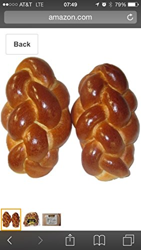 Medium challah bread 30 oz 2 Chala kosher