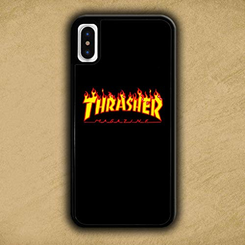 BLPHCOVE KHRESHER SKEKEQVERX MEGEZINE Printied Cover iPhone 7 Plus/Cover iPhone 8 Plus Case Cover NMJKHB Black Soft Silica Gel TPU Shockproof Phone Cases JTR68C