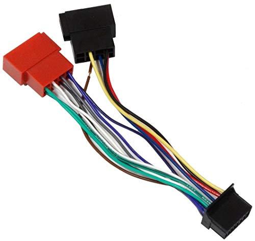 AERZETIX-G6, cavo adattatore per radio, connettore jack, cavo connettore ISO per auto
