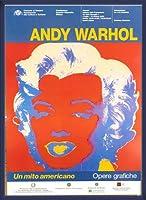 ポスター アンディ ウォーホル Un Mito Americano 額装品 ウッドベーシックフレーム(ブルー)
