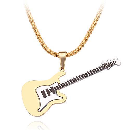 AISHIPING 3 Corlor Mini E-gitaar halsketting met ondersteuning miniatuur muziekinstrumenten hals hanger Party Action Ornamenten