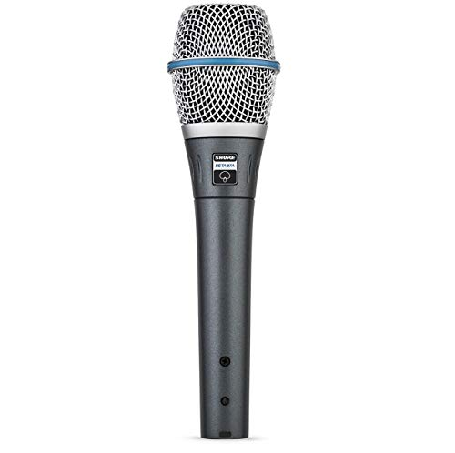 SHURE BETA 87A Microphone, Supercardioid, Condenser, for Voices