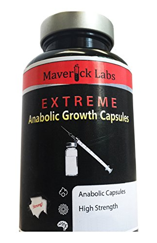 Strong Anabolic Mass Gainer Capsules - for More Muscle, More Strength, More Power and More Muscle - 90 Capsules