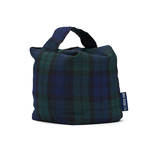 Blue Badge Co Tela Bean-Bag Tope para Puerta, Blackwatch Tartan