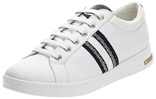 Geox D Jaysen A, Zapatillas Mujer, Blanco (White C1000), 37 EU en oferta