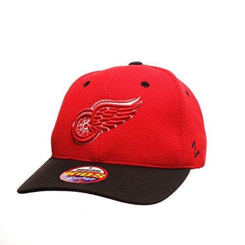 Zephyr Youth NHL Tyke verstellbar Snapback Cap–zweifarbig Kinder Größe verstellbar Baseball Hat, Detroit Red Wings