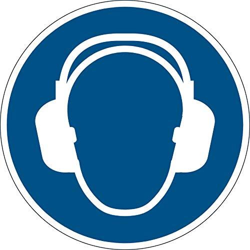 Durable Sicherheitskennzeichen Gehörschutz benutzen Ø 43 cm 172906 blau