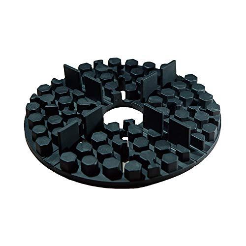 100x SANPRO Gummi Plattenlager/Stelzlager - 2 mm Fuge - Stapelbar von 10-30 mm