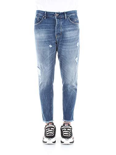 Imperial Jeans Uomo Denim Blu Medio