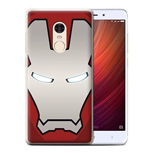 Diseño: Robot Rojo/Plata Diseñado específicamente para el Xiaomi Redmi Note 4 Hecho de: plástico de policarbonato Facil quita y pon Esta carcasa permite el acceso a la cámara, los auriculares y todos los botones de su móvil.
