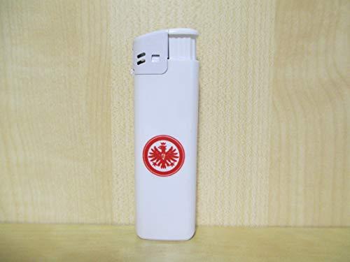Eintracht Frankfurt Feuerzeug weis l nachfüllbar