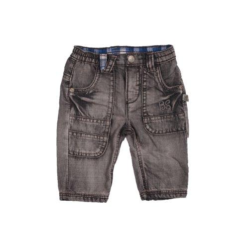 Kanz Baby-Jungen Hose Jeans, Grau (0017), 62