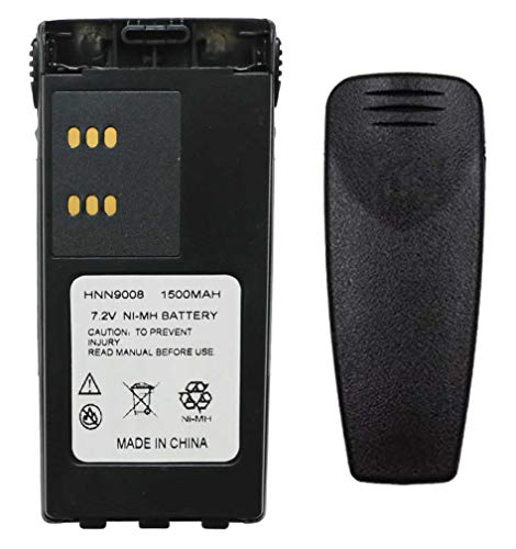 Teseko HNN9008A HNN9008 HNN9009 HNN9009A HNN9013A 7.2V 1500mAh NI-MH Two-Way Radio Battery Replacement for Motorola HT750 HT1225 HT1250 GP320 GP328 GP338 GP328 PR860