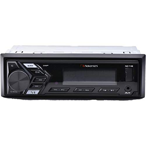Single-DIN in-Dash Mechless Digital Media Receiver with...