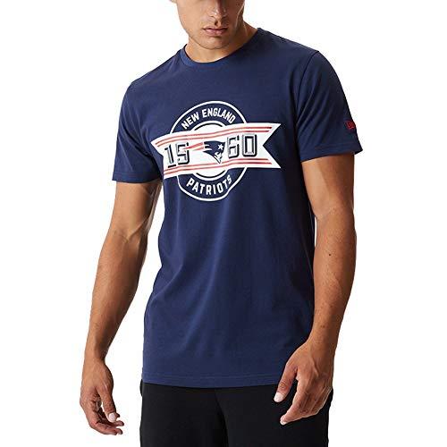 New Era Camiseta de Manga Corta Modelo NFL Team Established tee NEEPAT...