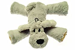 Super Soft plush dog toy Features unique shaped squeaker in each leg Super cute and super fun dog toy