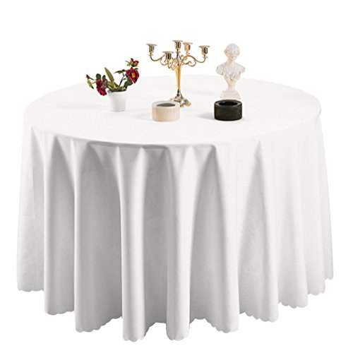 Heheja Hotel Tovaglia Restaurant Table Skirt Guesthouse Ristorante rotonda Tovaglia Bianca 200cm