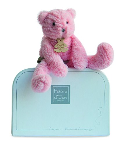 Doudou et Compagnie Sweety Couture Doudou Chat Rose PM