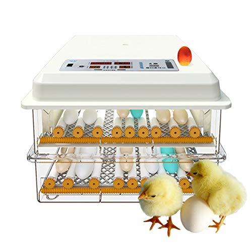 Automatische broodmachine ei-incubator auto draaien ei en wals instellen gevogelte hatcher brood om kip gans eend 48 Egg