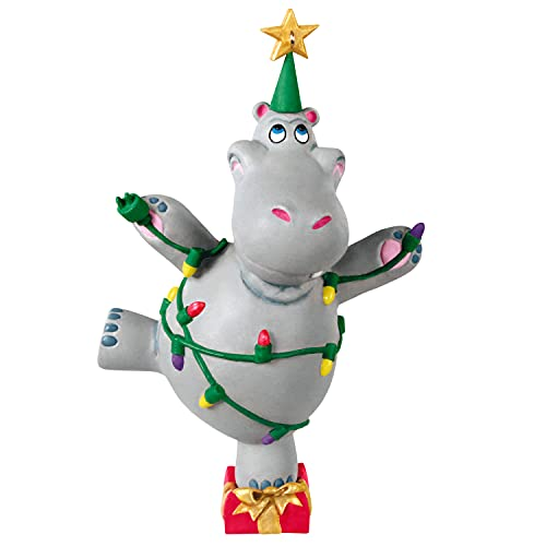 Hallmark Keepsake Christmas Ornament 2021, I Want a Hippopotamus for Christmas, Musical