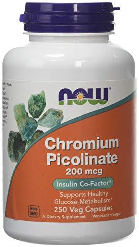 Now Foods - Chromium Picolinate 200 mcg. - 250 Capsules