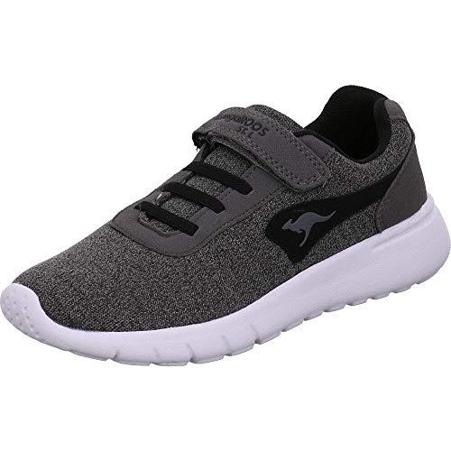 KangaROOS Unisex K-Gard EV Sneaker, Grau (Steel Grey/Jet Black 2019), 38 EU