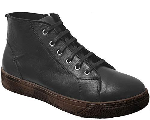 Andrea Conti 4060002, Zapatillas para Mujer, Negro, 39 EU