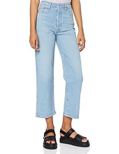 Levi's Ribcage Straight Ankle Jeans, Tango Gossip, 26W x 27L Donna