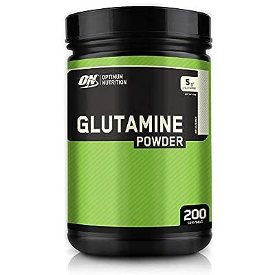 Optimum Nutrition ON Glutamine Powder, l-Glutamine Amino Acid, Unflavoured, 200 Servings, 1kg