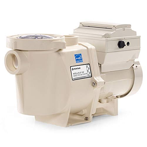 Pentair 011028 IntelliFlo VS Energy Efficient 230V Variable Speed In Ground Swimming Pool and Spa Pump with Digital Control Keypad