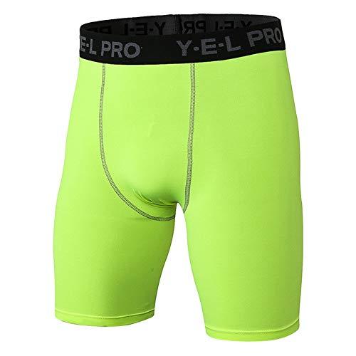 Shorts Deportivos Ajustados para Hombre Compresión Hombres de los Cortocircuitos de los Deportes de Fitness de Running de Entrenamiento Pantalones Cortos de Secado rápido Pantalones Cortos Multicolor