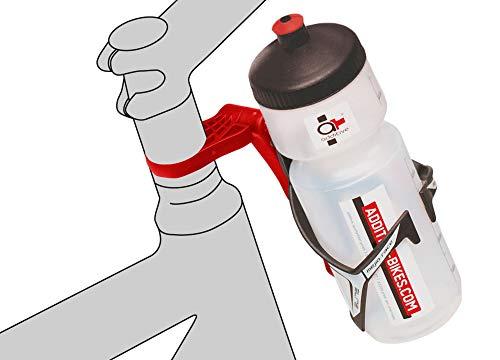 ADDITIVE 2324046500 Flaschenhalter-Adapter, schwarz, 18 x 10 x 10 cm