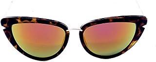Óculos solar Prorider preto e dourado com lente espelhada 5254