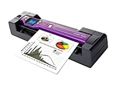 Slips conveniently into a purse or briefcase so you can scan important documents and photos on-the-go when no copier is available Scan in color or black and white and save your scans as JPEG or PDF format When docked, the high-speed sensor scans pape...