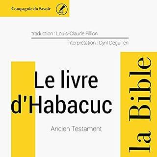 Couverture de Le livre de Habacuc