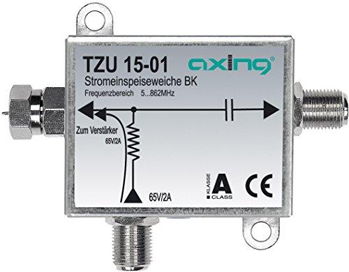 Axing TZU 15-01 BK-Stromeinspeiseweiche zum Fernspeisen von BVS