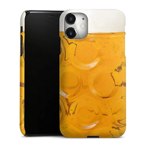DeinDesign Premium Hülle kompatibel mit Apple iPhone 11 Smartphone Handyhülle Hülle matt Bier Glas Oktoberfest