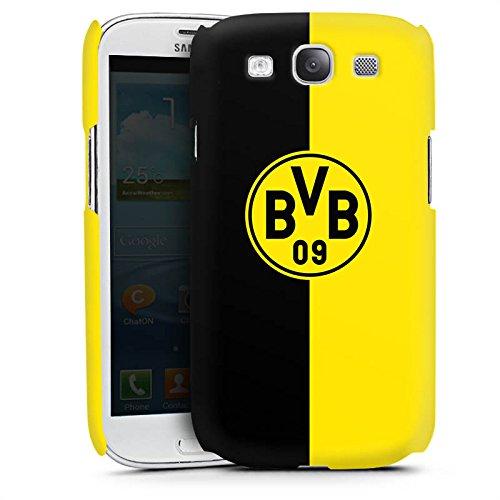 DeinDesign Premium Case kompatibel mit Samsung Galaxy S3 Neo Smartphone Handyhülle Hülle matt BVB Borussia Dortmund Wappen